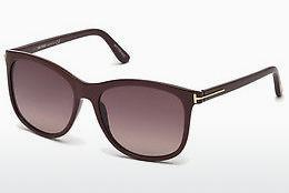 Sonnenbrille Tom Ford FT0567 69T - Burgund, Bordeaux, Shiny