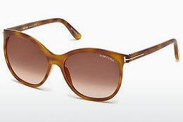 Tom Ford Damen Sonnenbrille » FT0568«, gelb, 53G - gelb/braun