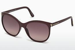 Sonnenbrille Tom Ford FT0568 69T - Burgund, Bordeaux, Shiny