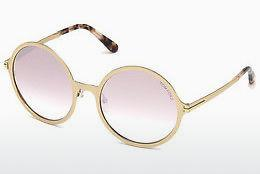 Sonnenbrille Tom Ford FT0572 28Z - Gold