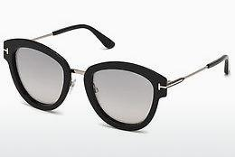 Sonnenbrille Tom Ford FT0574 14C - Grau, Shiny, Bright
