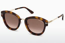 Tom Ford Damen Sonnenbrille » FT0574«, schwarz, 01T - schwarz/rot