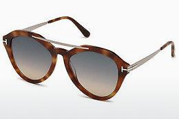 Sonnenbrille Tom Ford FT0576 53B - Gelb, Braun, Havanna