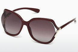 Sonnenbrille Tom Ford FT0578 69T - Burgund, Bordeaux, Shiny