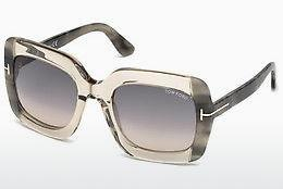 Sonnenbrille Tom Ford FT0580 59B - Horn, Beige, Brown