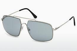 Sonnenbrille Tom Ford FT0585 16A - Silber, Shiny, Grey