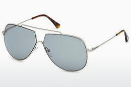 Sonnenbrille Tom Ford FT0586 16A - Silber, Shiny, Grey