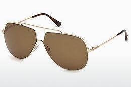 Sonnenbrille Tom Ford FT0586 28E - Gold