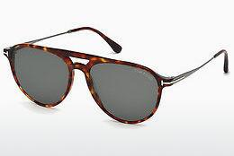 Sonnenbrille Tom Ford FT0587 54N - Havanna, Red