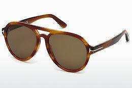 Sonnenbrille Tom Ford FT0596 41E - Gelb