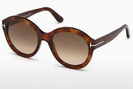 Sonnenbrille Tom Ford FT0611 53F - Gelb, Braun, Havanna