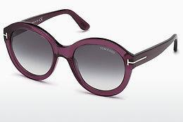 Sonnenbrille Tom Ford FT0611 69B - Burgund, Bordeaux, Shiny