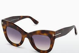 Sonnenbrille Tom Ford FT0612 53Z - Havanna, Yellow, Blond, Brown
