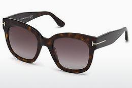 Sonnenbrille Tom Ford FT0613 52T - Braun, Dark, Havana