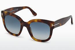 Sonnenbrille Tom Ford FT0613 53W - Havanna, Yellow, Blond, Brown