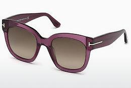 Sonnenbrille Tom Ford FT0613 69K - Burgund, Bordeaux, Shiny