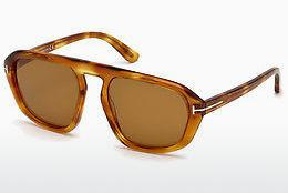 Sonnenbrille Tom Ford FT0634 53E - Gelb, Braun, Havanna