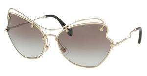 Miu Miu MU 56RS ZVN0A7 GREY GRADIENTPALE GOLD