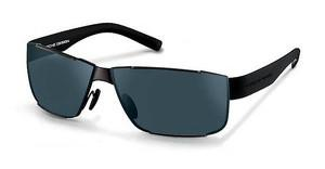 Porsche Design P8509 C blue, black mirroredgun