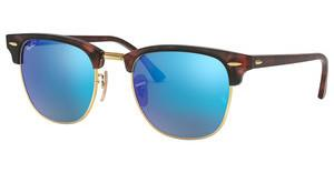 Ray-Ban RB3016 114517 GREY MIRROR BLUESAND HAVANA/GOLD