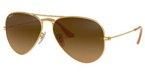 Ray-Ban RB3025 112/M2 POLAR BROWNMATTE GOLD
