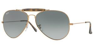 Ray-Ban RB3029 197/71 LIGHT GREY GRADIENT DARK GREYSHINY BRONZE