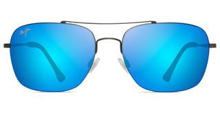 Maui Jim Lava Tube B786-02S Blue HawaiiSatin Dark Gunmetal
