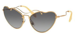 Miu Miu MU 55RS 7OE3E2 GREY GRADIENTANTIQUE GOLD