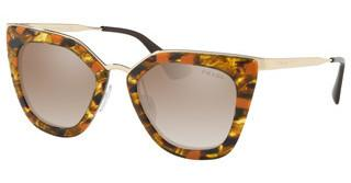 Prada PR 53SS KJN4P0 BROWN GRAD GREY MIRROR SILVERSTRIPED BROWN/ORANGE