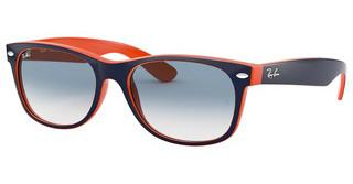 Ray-Ban RB2132 789/3F CRYSTAL GRADIENT LIGHT BLUETOP BLUE-ORANGE