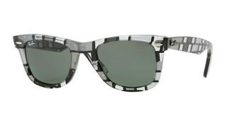 Ray-Ban RB2140 1084 CRYSTAL GREENGREY  DARK AND LIGHT
