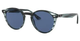 Ray-Ban RB2180 643280 DARK BLUESTRIPPED BLUE HAVANA