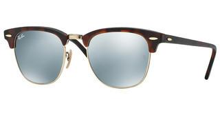 Ray-Ban RB3016 14530E LIGHT GREEN MIRROR SILVERSAND HAVANA/GOLD