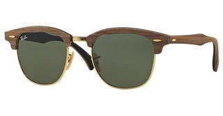 Ray-Ban RB3016M 1181 GREENWALNUT RUBBER BLACK