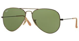 Ray-Ban RB3025 177/4E GREENANTIQUE GOLD