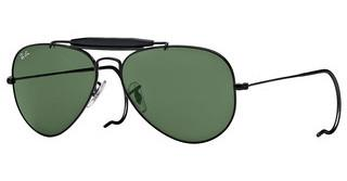 Ray-Ban RB3030 L9500 CRYSTAL GREENBLACK