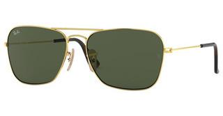 Ray-Ban RB3136 181 DARK GREENGOLD