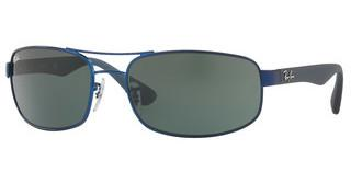 Ray-Ban RB3445 027/71 GREENMATTE BLUE