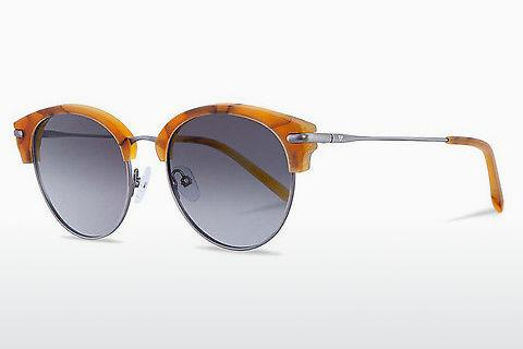 Sonnenbrille Kerbholz Carl Amber Orange