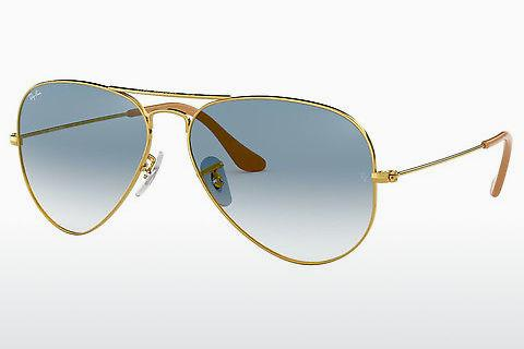 Sonnenbrille Ray-Ban AVIATOR LARGE METAL (RB3025 001/3F)