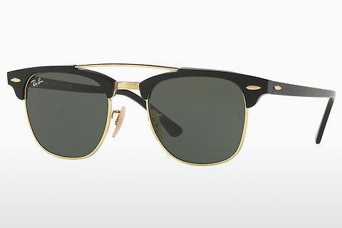 Sonnenbrille Ray-Ban CLUBMASTER DOUBLEBRIDGE (RB3816 901)