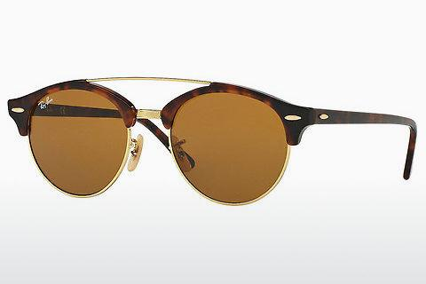 Sonnenbrille Ray-Ban Clubround Doublebridge (RB4346 990/33)