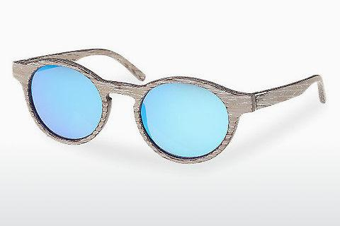 Sonnenbrille Wood Fellas Flaucher (10754 chalk oak/blue)