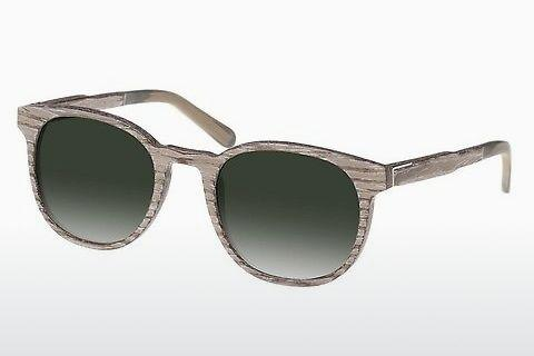 Sonnenbrille Wood Fellas Neuhausen (10761 chalk oak/green)