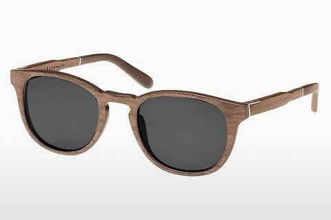 Sonnenbrille Wood Fellas Bogenhausen (10762 walnut/grey)