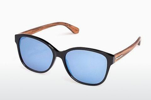 Sonnenbrille Wood Fellas Basic Wallerstein (10794 black oak)