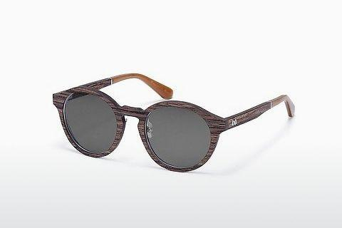 Sonnenbrille Wood Fellas Reichenstein (10948_S walnut)