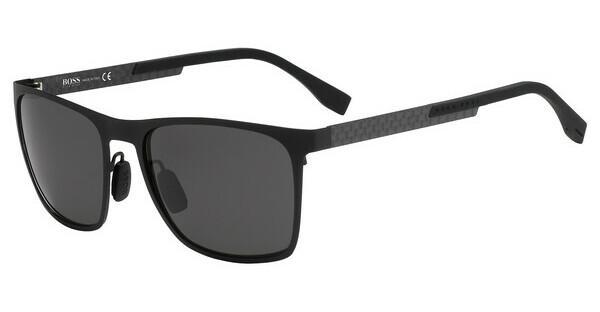 Boss Herren Sonnenbrille » BOSS 0990/F/S«, schwarz, 807/M9 - schwarz/grau