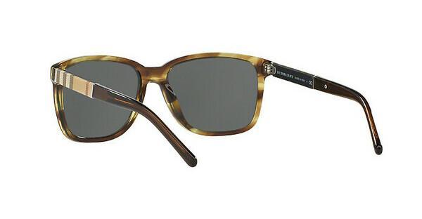 BURBERRY Burberry Sonnenbrille » BE4181«, braun, 361187 - braun/grau