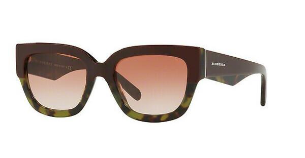 BURBERRY Burberry Damen Sonnenbrille » BE4252«, rot, 3653E2 - rot/braun